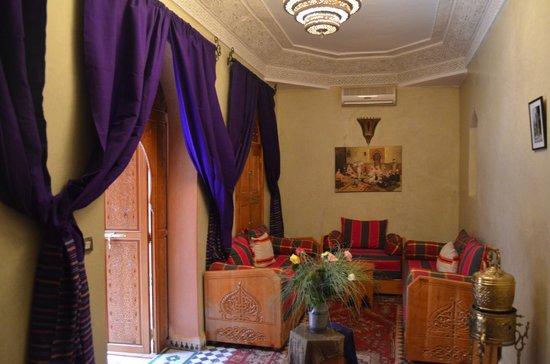 Riad BenSaid : le petit salon