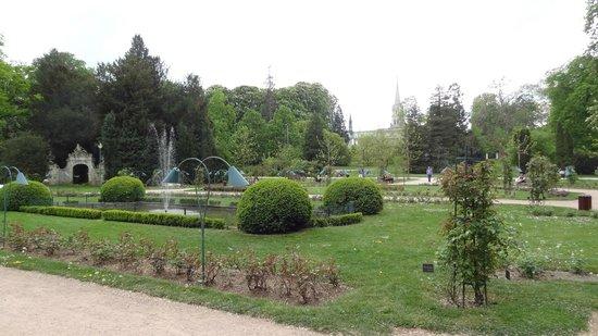 Parque Pepiniere: jardin