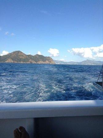 Blue Bay Platinum Hotel : boat trip return a bit calmer