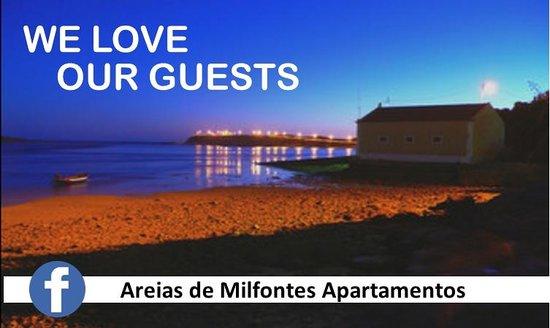 Areias de Milfontes Apartamentos: We love our Guests