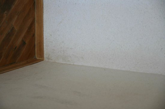 King Palace Hotel: Dirty walls - very unhealthy