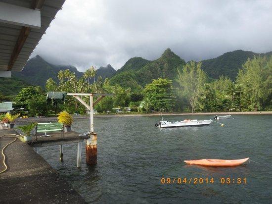 Bonjouir Lodge Paradise Pension: vue du ponton