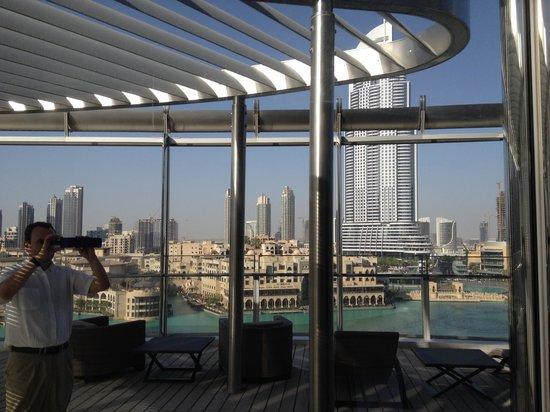 Armani Hotel Dubai: TERRAZA SUITE FOUNTAIN