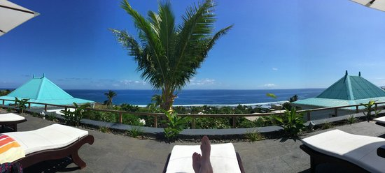 Blue Margouillat Seaview Hotel : Une vue imprenable