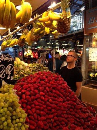 Santa Caterina's Market : Fresh !!!