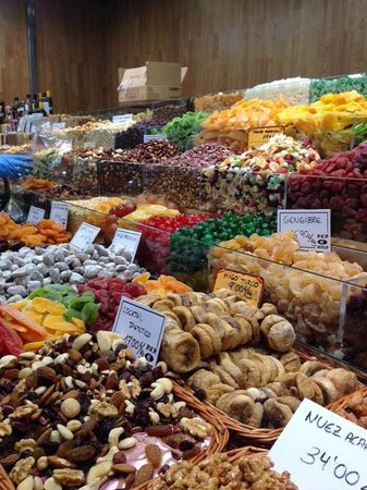 Santa Caterina's Market : Lots of colors