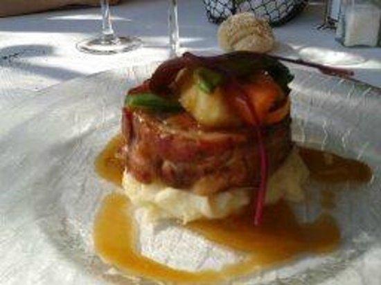 Restaurant Les Pins: plat du jour