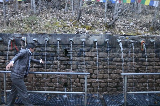 Muktinath Temple (Chumig Gyatsa): Freezing Water Touch