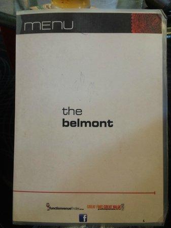 Belmont Tavern: Menu
