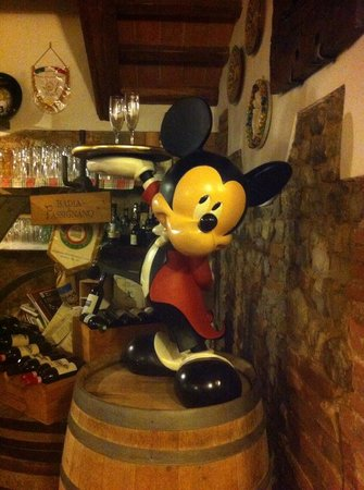 I Palmenti : Il topolino all'ingresso