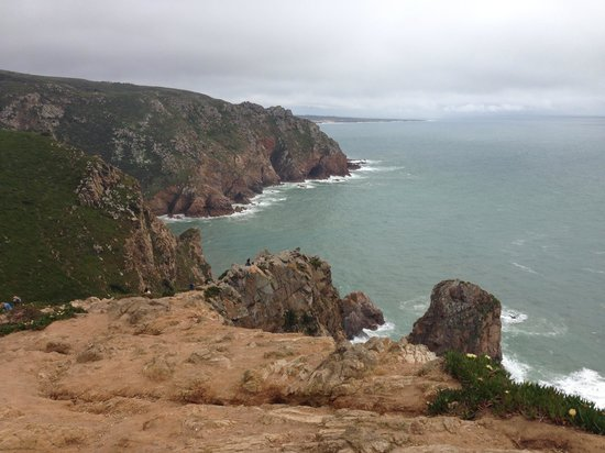Cabo da Roca: Looks better than in the pic