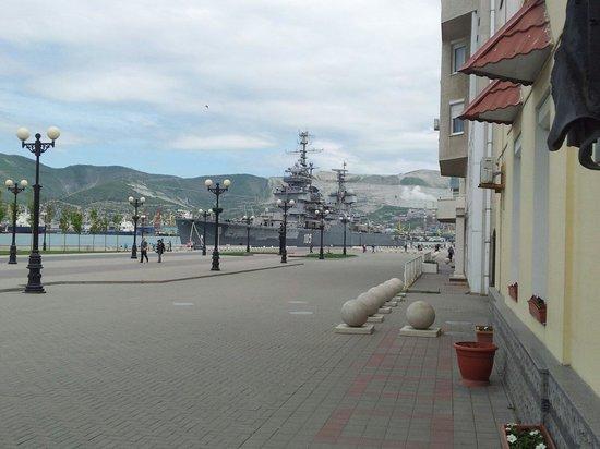 Novorossiysk, Ρωσία: Великий крейсер!