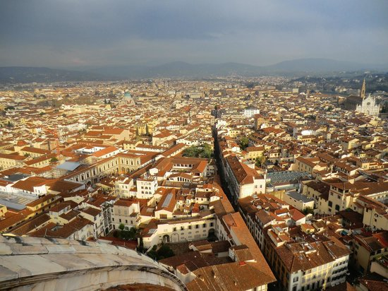 Kathedrale Santa Maria del Fiore: View from the top