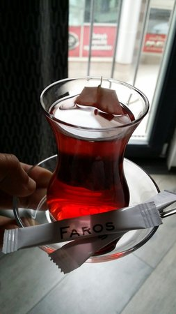 Faros Hotel Taksim: Who has a beautiful past .. definitely he will come back to him...