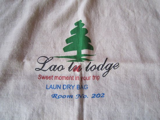 "Lao Lu Lodge: Laundry Bag ""Sweet Moments"""