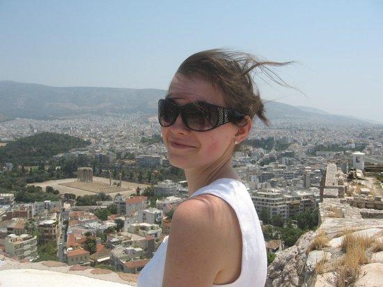 Acropole : Вид на Афины