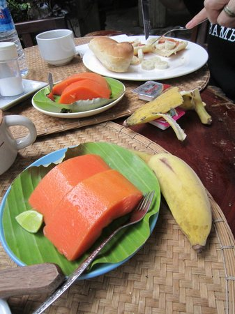 Lao Lu Lodge: Healthy Mouthwatering Fruit