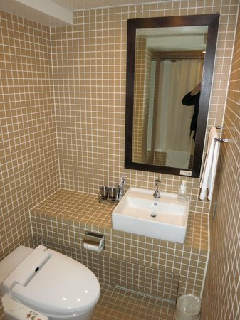 Sutton Place Hotel Ueno : kleines Bad