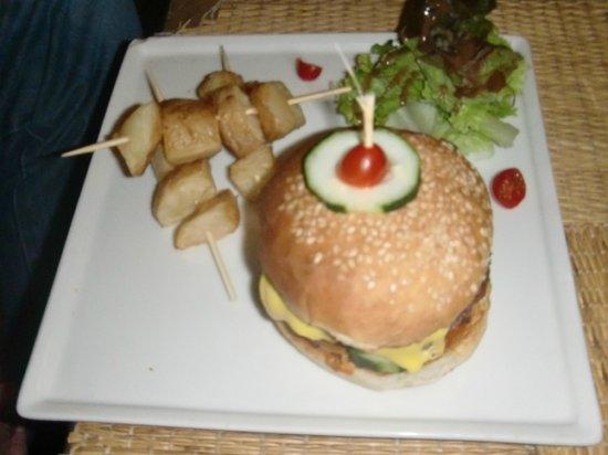 Un Déjeuner à Marrakech : Burger maison