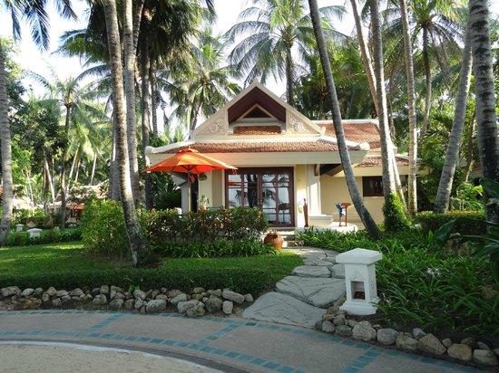 Santiburi Koh Samui: Villa mit direkter Sicht aufs Meer