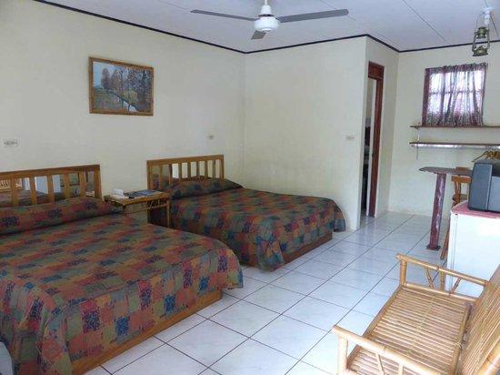 Cabinas Something Different: Recht komfortabele Zimmer