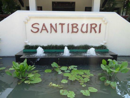 Santiburi Koh Samui: Eingang