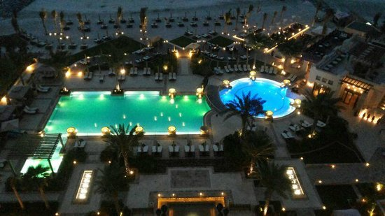 Ajman Saray, A Luxury Collection Resort: View from room at night