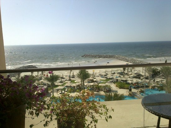 Ajman Saray, A Luxury Collection Resort: View from room during the day