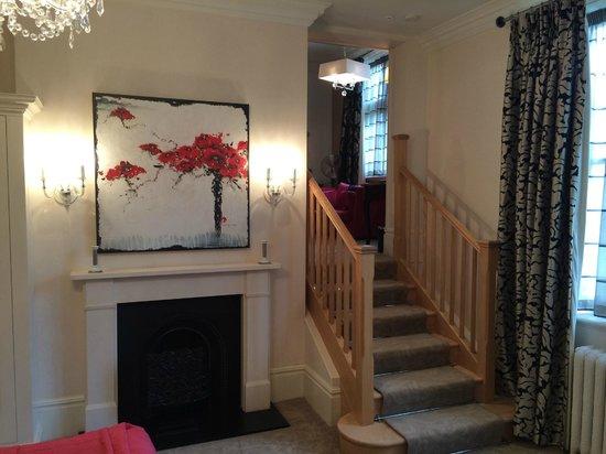 Rockliffe Hall: Bedroom suite, in Old Hall.