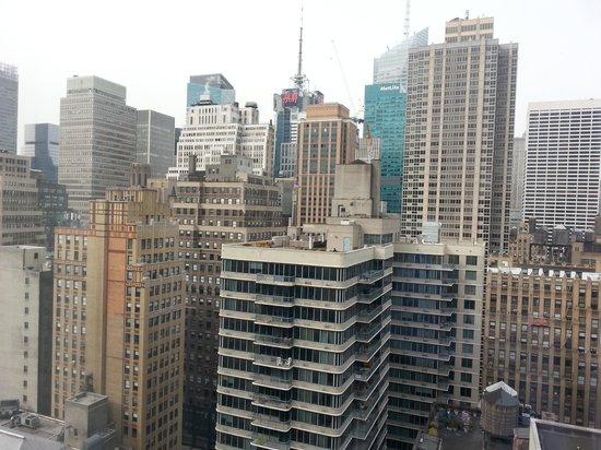 Hilton Garden Inn New York/West 35th Street: dalla nostra camera al 28° piano