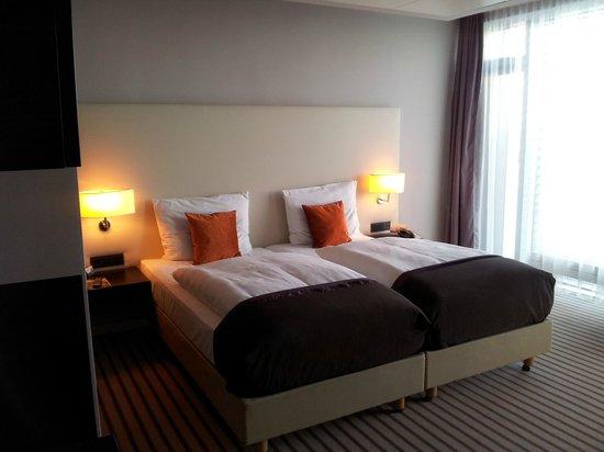 Radisson Blu Hotel Leipzig: Doppelzimmer