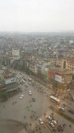 Sofitel Plaza Hanoi : Vue depuis la chambre
