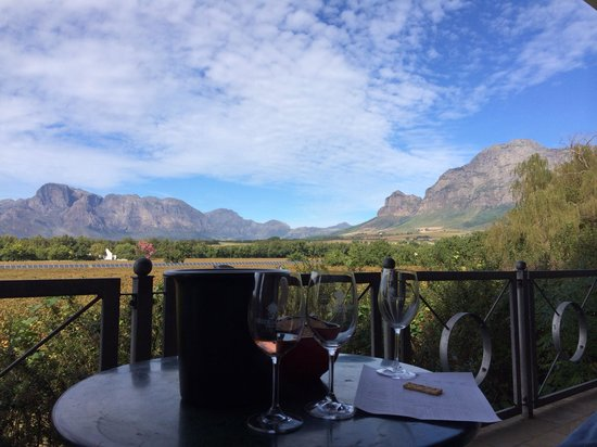 Vrede en Lust Winery: Amazing view :)