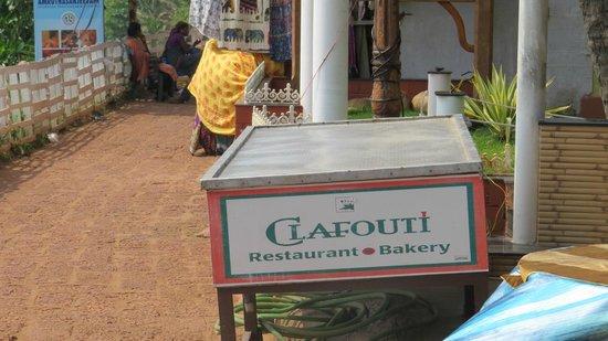 Clafouti: The restaurant name