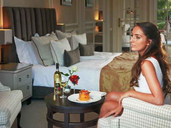 Villa Belrose Hotel : Chambre supérieure vue jardin