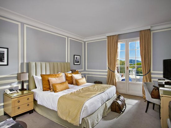 Villa Belrose Hotel : Chambre Deluxe vue mer