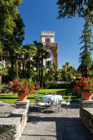 Ristorante Al Lago - Romantik Hotel Castello-Seeschloss: Ascona Castello al Lago