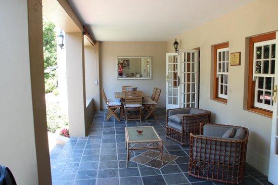 Rusthuiz Guest House : petit con repos