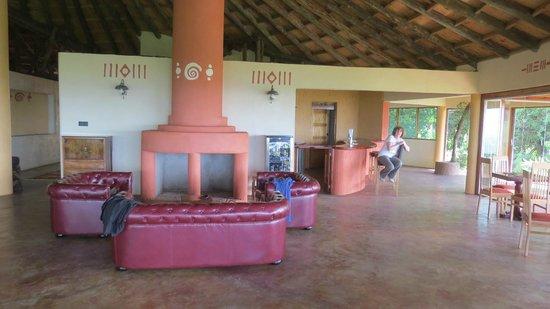 Mara Engai Wilderness Lodge: lounge