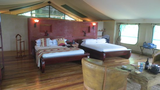 Mara Engai Wilderness Lodge: our room