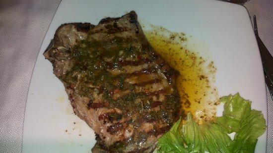 Trattoria del Moro - Aronne : bistecca con salsa del curato