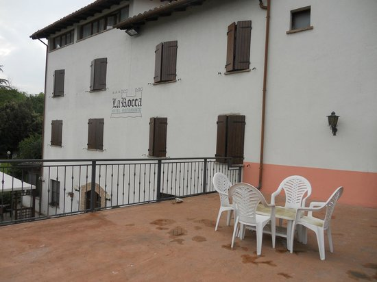 Hotel La Rocca: Foto dal balcone