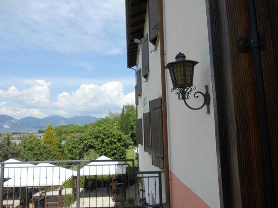 Hotel La Rocca: Vista dal balcone della camera