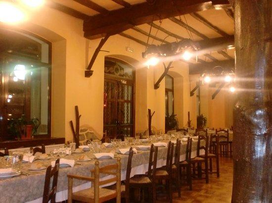 Hotel Ayestaran : comedor
