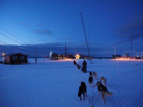 Svalbard, Norway: Our arrival to Isfjord Radio