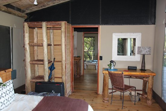 Wilderness Safaris Rocktail Camp: chambre