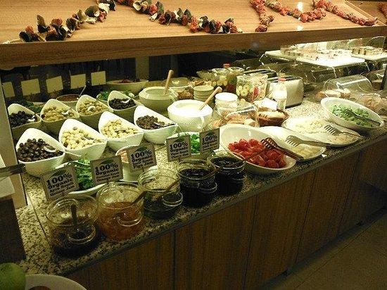 Parkhouse Hotel : breakfast buffet