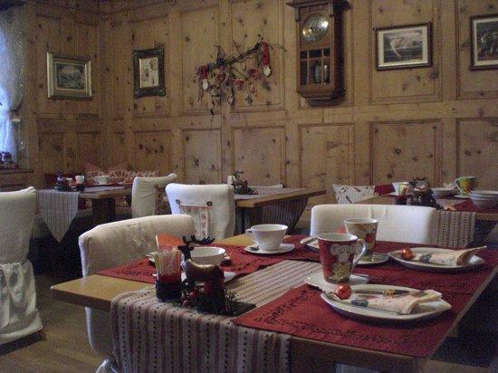 Pension Backsteinerhof : Sala colazione