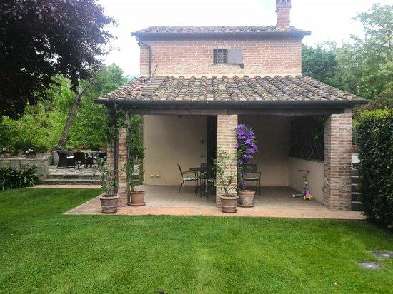 Villa Il Trebbio: i gelsi