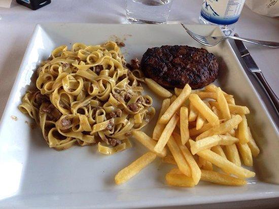 Ristorante Borgo di Vione: Piatto di mezzogiorno! Abbondante!